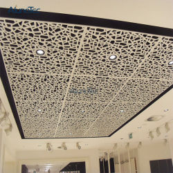 Soffitto decorativo di lusso del metallo degli schermi per dell'interno