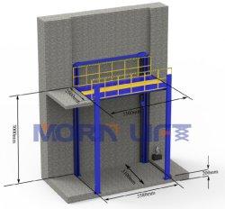 4 Pfosten-hydraulischer Auto-Aufzug für den Auto-Speicher-Garage-Auto-Parkplatz installiert in Mezzanin und in Welle