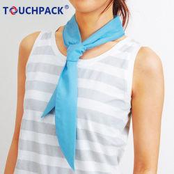 Stirnband-Baumwoll-Polyester-Eis-abkühlender Schal-kühlender Sport-Schal