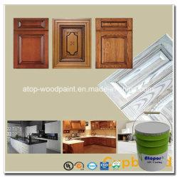 スプレーのキャビネットMDFのドアのパネルの合板の家具のための木製の白い終わりのニスのペンキ