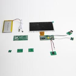 Module vidéo LCD 10 pouces écran double lecteur de publicité