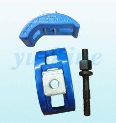 Molde de inyección de plástico diseñado las tuercas de fijación de las abrazaderas de fijación de un molde de manchas en la máquina de inyección de cierre del molde