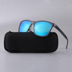 В этой новой алюминиевой высокого качества женщин поляризованной вилкой для УФ400 спортивного движения мужчины солнечные очки