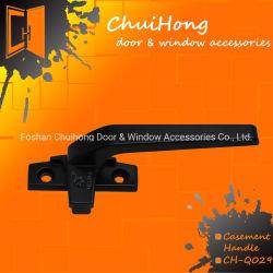 Commerce de gros de haute qualité, revêtement de poudre de zinc de la peinture de la poignée de vitre de porte prix d'usine (#Q029)