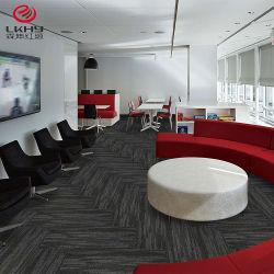 China Fábrica de Alfombras alfombras tufted Oficina corredor PVC Polipropileno Hotel extraíble de la alfombra Alfombra mosaico comercial
