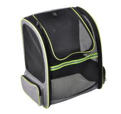Дышащий дважды взять на себя сетчатый складной мелких животных домашние животные Cat собак перевозчика Pack рюкзак сумка (CY3680)