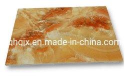 De hoge Glanzende Waterdichte van pvc Marmeren van het Blad Vuurvaste UVRaad van het pvc- Blad