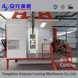 China Máquina de pintura por pó Automática da fábrica para venda