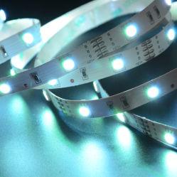 Indicatore luminoso di striscia di Epistar SMD5050 RGB LED della lampadina della TV per illuminazione CRI>80,90,96 di notte della base