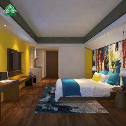 Designs de luxo 5 estrelas moderno quarto Suite de mobiliário de madeira