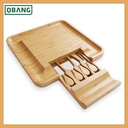Кухня высокого качества риса шелухой режущий бамбук для измельчения сыра системной платы