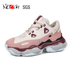 Les femmes de maille respirante personnalisé marque fashion Sneakers chaussures occasionnel