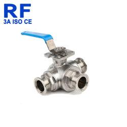 Трехстороннем согласовании Quick-Install RF Ручной шаровой клапан