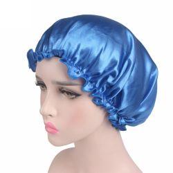 De nieuwe Hoed van de Tulband van de Katoenen Kleur van Soild voor Kappen van de Chemotherapie van het Comfort van Headwear van het Ontwerp Bandana van het Voorhoofd van Vrouwen de Dwars Vrouwelijke Eenvoudige
