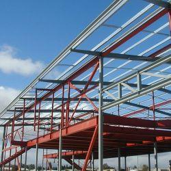 Costruzione prefabbricata dell'acciaio della saldatura della struttura d'acciaio