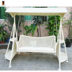 屋外の藤の柳細工の振動椅子(Sw02002)をハングさせるスクラッチ抵抗力がある庭