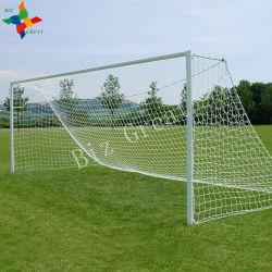 Sport privi di nodi dell'HDPE caldo di vendita che catturano con la rete la rete di gioco del calcio di calcio di /White fatta in Cina