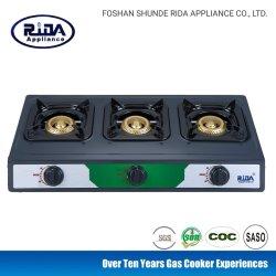 Tres colmena fría grabadora portátil de la Chapa cocina de gas hogar Kitchmen aparato