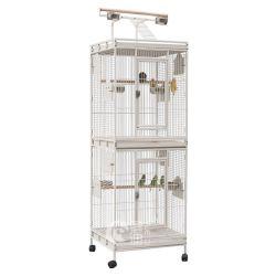 Heißer Verkaufs-Vogel-Papageien-Taube-Rahmen-Vogel-führende Rahmen mit Rad