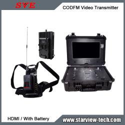 Портативный передачи COFDM (мультиплексирование Nlos HDMI видео для мобильных устройств беспроводной передатчик ЖК-дисплей