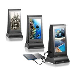 Adx-5 LCD Speler WiFi van de Lijst van het Scherm van de Aanraking de Binnen Verticale Adverterende de Reclame van 7 Duim