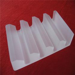 La transformación profunda de la placa de vidrio de cuarzo personalizada opaco