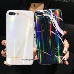 Le marbre Laser IMD Sparkle Téléphone cellulaire pour cas Iphonexs xr