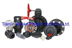 Plastique de haute qualité DIN UPVC Soupape de la norme JIS ANSI