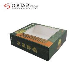 Contenitore bianco esterno di scatola dell'imballaggio del regalo del vino rosso del cartone di vendita diretta con la finestra di Transaprent