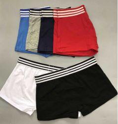 Katoen/Spandex Mannen/Mannen/Gentleman Blank Plain Elastic White/Red/Black/Navy/Blue/Grey Boxer, Ondergoed