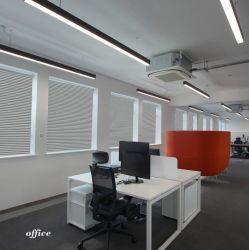 Lineare Büro-Beleuchtung des Qualitäts-Hotel-Entwurfs-dekorative Chrom-LED, die das hängende Büro unten beleuchtet Deckenleuchte hängt