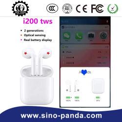I200 TWS Air2 1 : 1 écouteurs son hi-fi capteur optique de recharge sans fil W1 Chip Pk I30, J'ai60, J'ai80, I90, J100, i200, J300, i500, J600