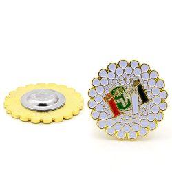 Longzhiyu 13 Jahre Magnet Revers Pins Maker Machen Sie Ihre Eigenen Magnet Badges Magnetstifte für Kleidung