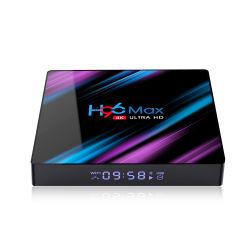 Neue Ankunft Rockchip H96 maximales Rk3318 4GB 64GB Rk3318 verdoppeln WiFi androider Fernsehapparat-Kasten 4K ultra HD 3840X2160 Fernsehapparat-Kasten-gesetzter Spitzenkasten