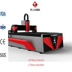 machine de découpage au laser à filtre par système de chargement automatique de traitement et le tube de métal de la plaque de feuille