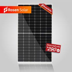 Rosen nouvelle énergie Panneaux solaires mono 290W de la moitié de cellules solaires de coupe