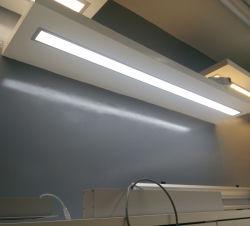 prix d'usine 20W~80W à LED lumière linéaire en aluminium encastré Appareil d'éclairage pour le Bureau de l'utilisation
