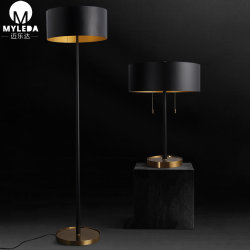 真鍮の永続的な読書ランプの永続的な床ランプ