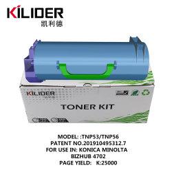 Usine de haute qualité laser d'alimentation Konica Minolta TNP53 TNP56 Toner pour Bizhub 4702