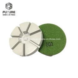 3-дюймовый гибкий влажный сухой шлифовки алмазов облигаций полимера абразивного инструмента для конкретных гранита с мраморным полом