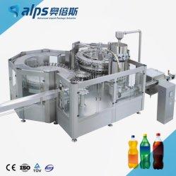 Bouteille automatique de boissons gazeuses Making Machine de remplissage de jus de printemps de l'eau potable de minéraux de soude usine d'embouteillage de ligne de production