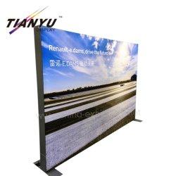 Двойные боковые стойки без освещения поля тонкий 65мм безрамные ткань легких окно с края модуля горит постоянным светом