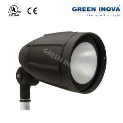 5 Jahre des Garantieexternal-LED im Freienscheinwerfer-Beleuchtung-Gewehrkugel-Flut-Licht-mit UL-Cer