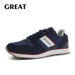 Greatshoe nueva llegada de los hombres equilibrio deporte de moda zapatos casual zapatos ejecutando con el precio de fábrica de zapatillas