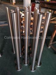 La norme ISO9001 Design moderne en acier inoxydable extérieur/intérieur de la main courante de verre avec balustrade/main courante pour Balcon/terrasse/escalier/escaliers