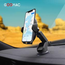 무선 차 충전기 빠른 비용을 부과 Goomac 10W 차 전화 홀더 차 무선 충전기 자동차 충전기