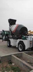 아주 새로운 각자 짐 3.2 입방체 미터 수용량 산출을%s 가진 유압 호퍼 구체 믹서 트럭