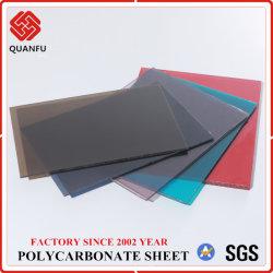 Hohe Auswirkung Doppelt-Seite UVpolycarbonat PC Körper-Blatt des schutz-16mm