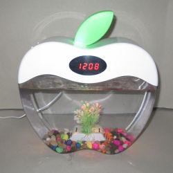Produto inovador em acrílico pequeno tanque de peixes de aquário, mini aquário aquarium