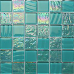 Het populaire OEM Zuivere Groene Waterdichte Mozaïek van de Tegel van het Zwembad